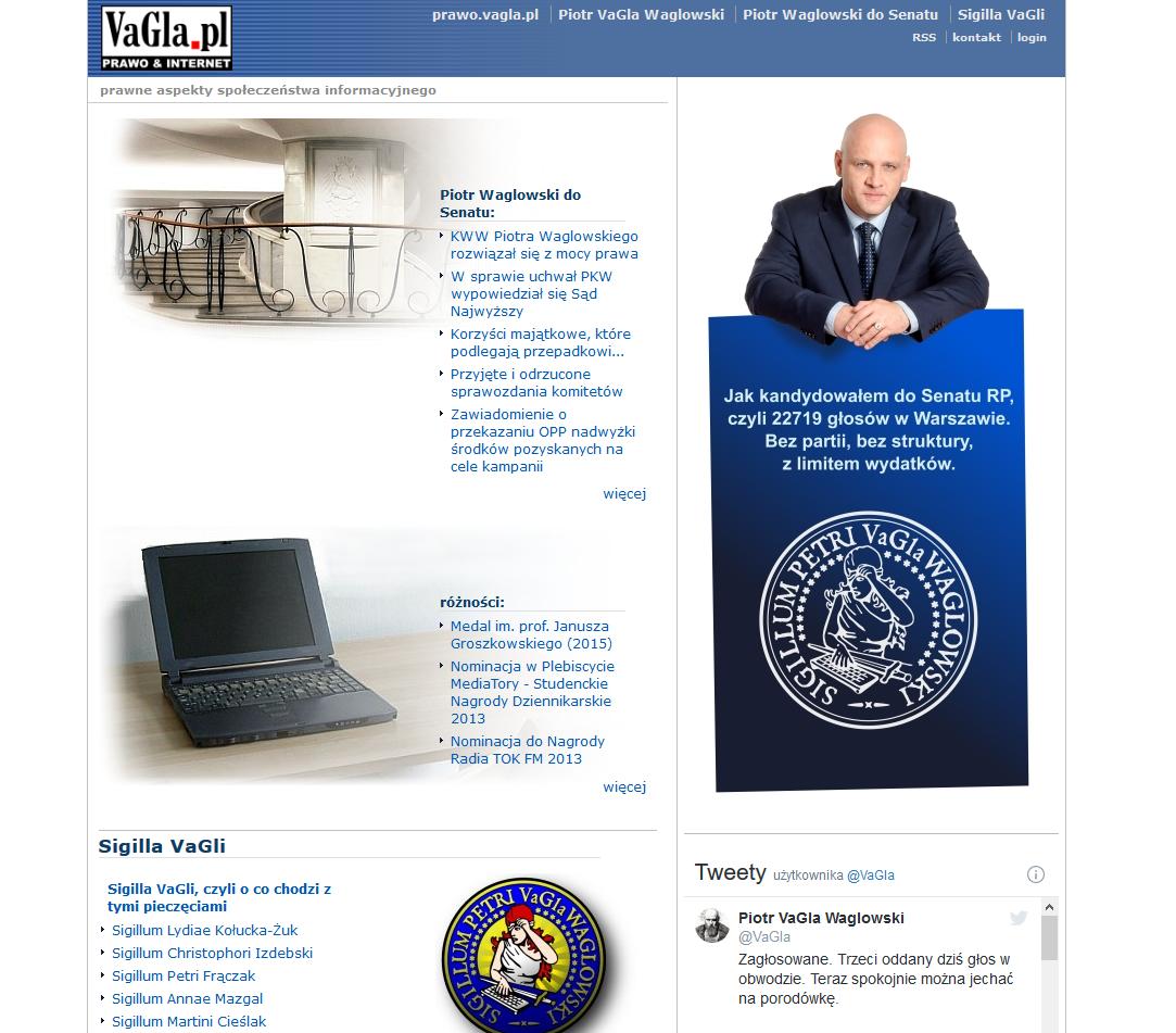 Przykładowy blog - vagla.pl