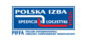 Ilustracja przedstawiajaca logo Polskiej Izby Spedycji i Logistyki
