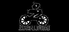Ilustracja przedstawiajaca logo sklepu rowerowego Żuchliński