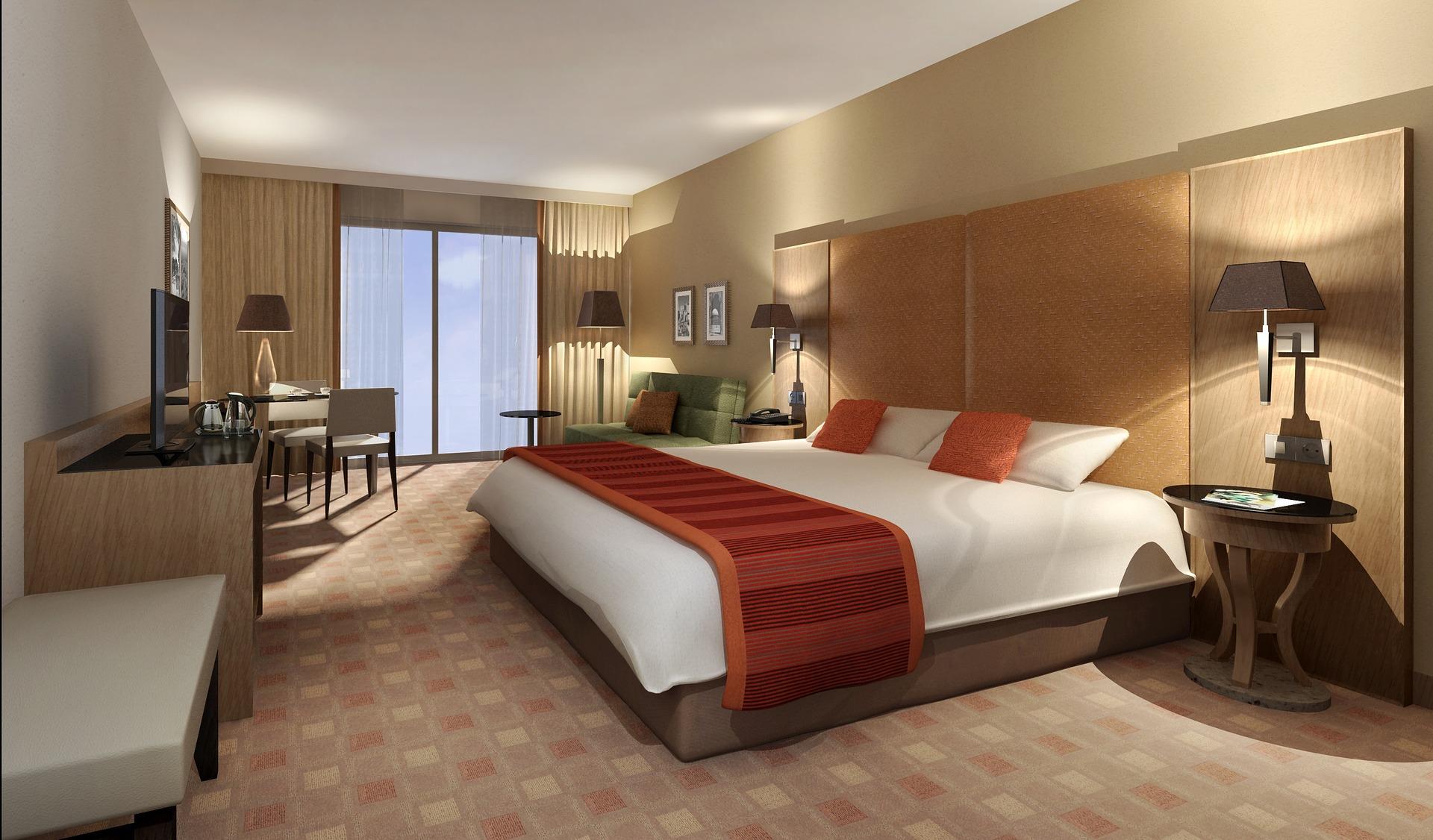 Na ilustracji widnieje sypialnia wykonana w CGI.